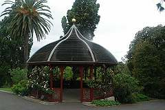 Rose Pavilion, Royal Botanic Gardens, Melbourne; 240x160